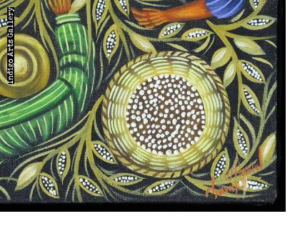 Harvesting Corn (Bird's Eye View)