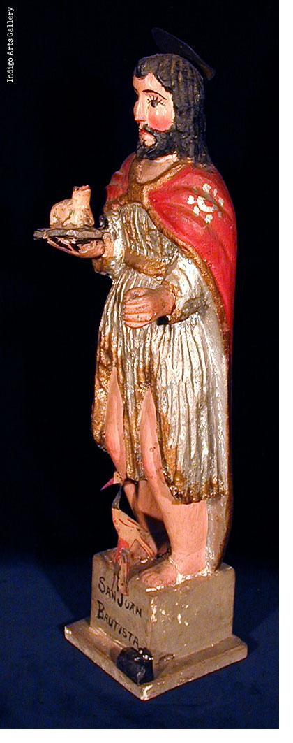 San Juan Bautista figure