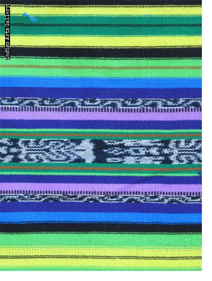 Jaspé Cotton and Synthetic Ikat Skirt Fabric (#jsp-10)