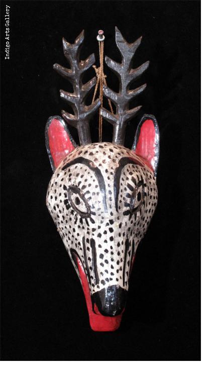 Venado Mask (#gtm020)