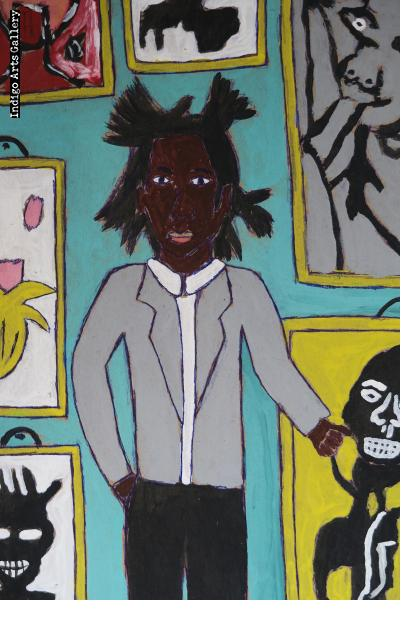 Exhibition by Jean Michel Basquiat and Picasso
