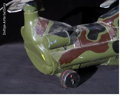 Invasion Helicopter from plastic bottles