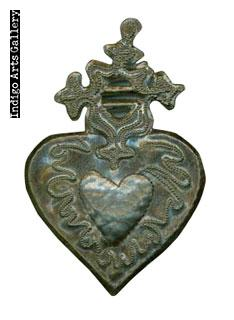 Hearts for Haiti! Recycled Steel-drum Heart Ornaments