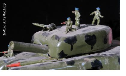 US Invasion Vehicle from plastic bottles