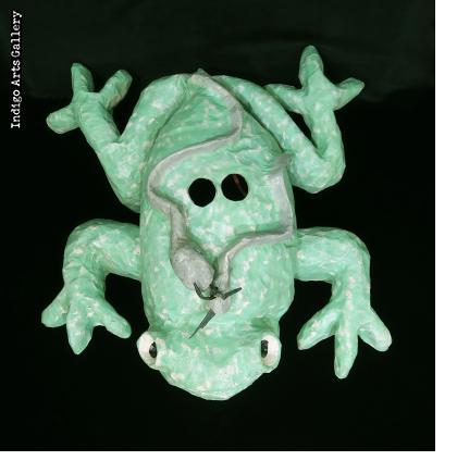 Frog - Carnival mask