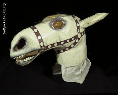 White Horse Carnival Mask