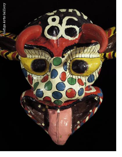 """Carnaval 86"" ""Djab"" mask"