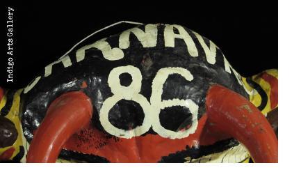 """Carnival 86"" ""Djab"" mask"