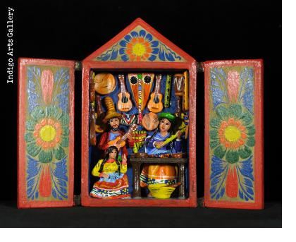 Music Shop - Retablo