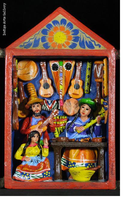 Music Shop - Retablo