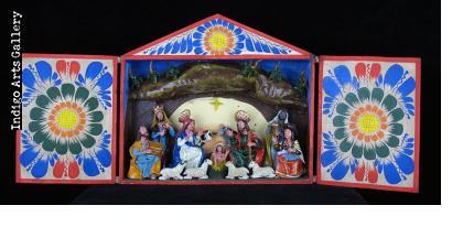 Nacimiento (Nativity) - Retablo (large)
