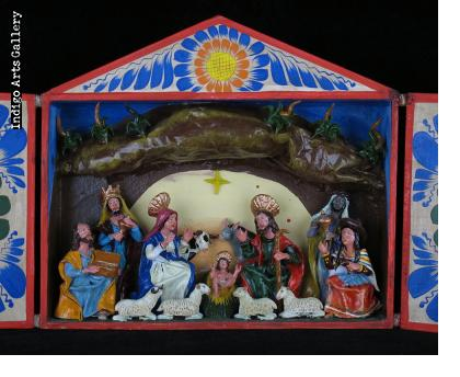 Nacimiento (Nativity) - Retablo (large)