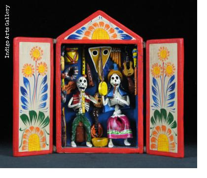Music Shop of the Dead - Retablo