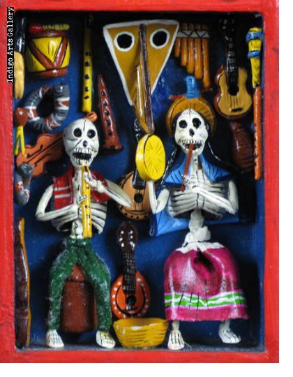 Music Shop of the Dead - Retablo