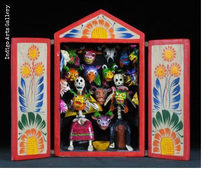 Mask Shop of the Dead - Retablo