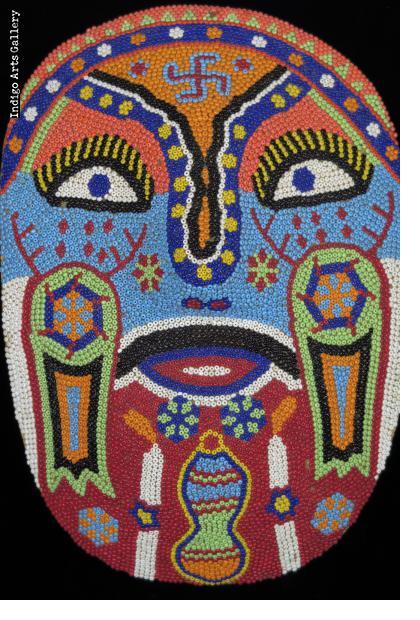 Huichol Beaded Mask