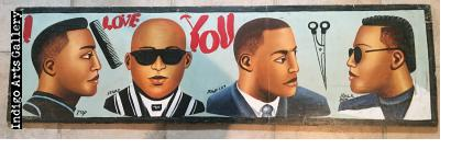"""I Love You"" Barber Sign"
