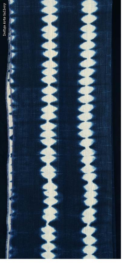 Indigo Head-scarf by Aissata Namoko