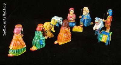 Indian Nativity - Large