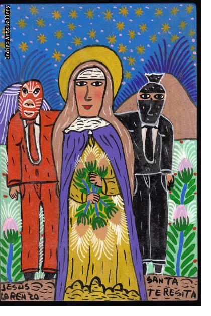 Santa Teresita y los Luchadores