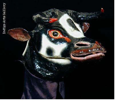 Carnival Bull Mask