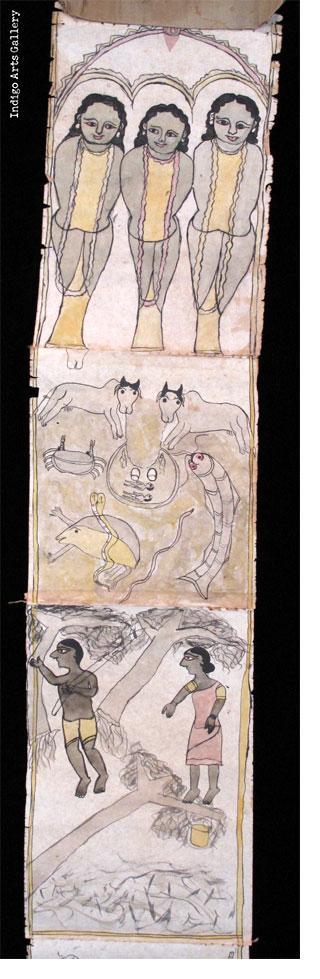 Jadupatua Scroll #3 (20 panels)