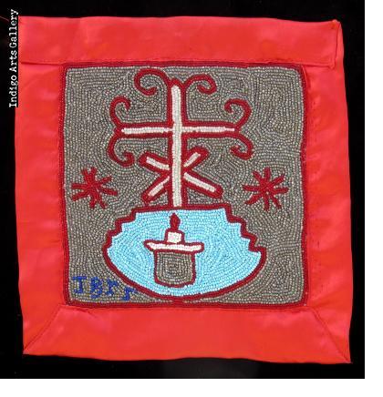 Baron La Croix - Vodou Flag