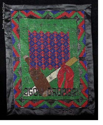 Ogou Badagri - Vodou Flag