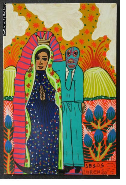 La Virgen y el Luchador