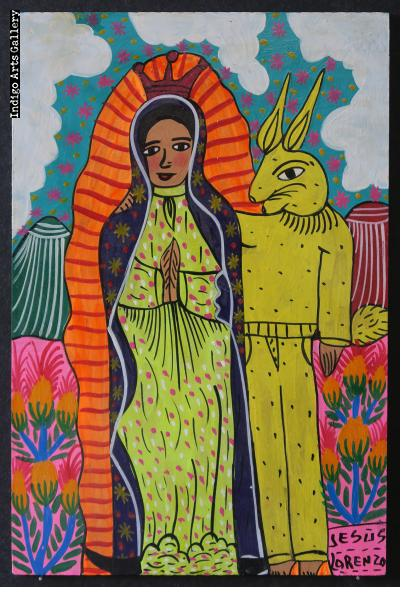 La Virgen y el Conejo (Virgin with Bunny)