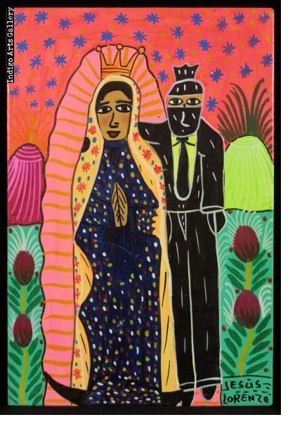 La Virgen y el Zapatista