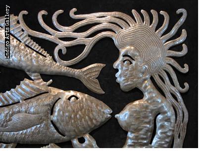 La Sirene et les Poissons V
