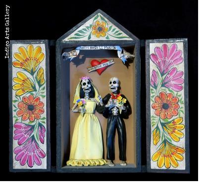 """""""Juntos Hasta La Muerte"""" - retablo"""