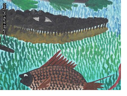 The Fisherman and the Crocodile
