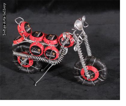 Bottlecap Motorcycle