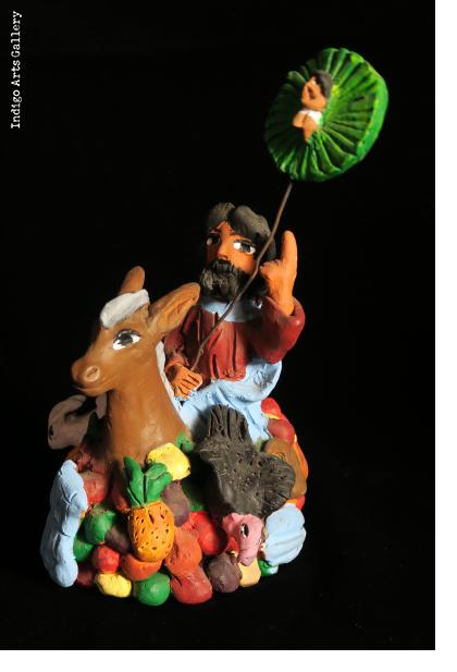 Jesus Riding into Jerusalem