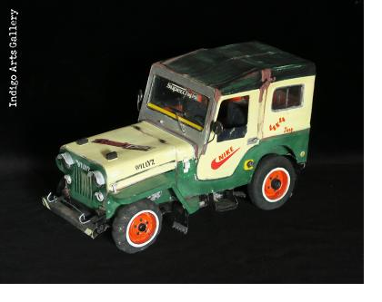 Jeep CJ Sculpture