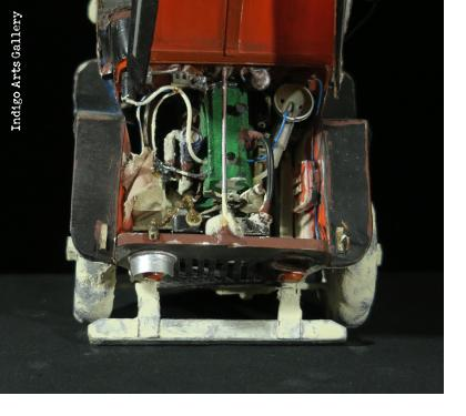 Broken Down Jeep with a Load - Automotive Sculpture