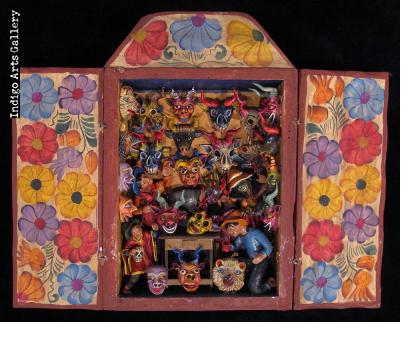 Mask Shop Retablo (Small)