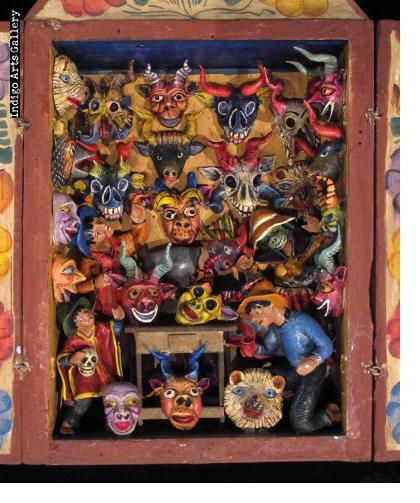 Mask Shop Retablo (Small)