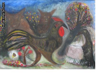 El Gallo y Dos Perros