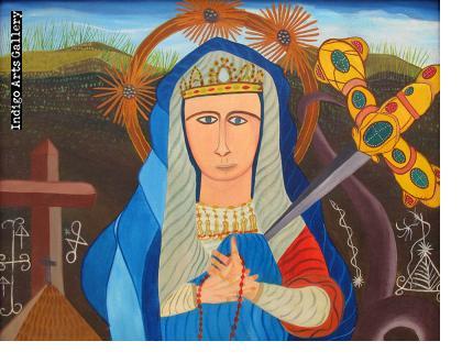 Virgin of Sorrows/Erzulie Freda