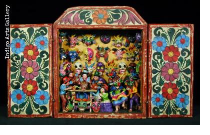 Medium Mask Shop Retablo (#PRTB7-med.)