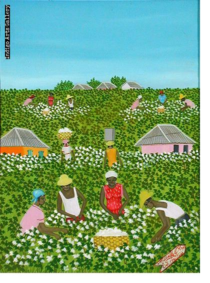 Picking Cotton Michaelle Obin