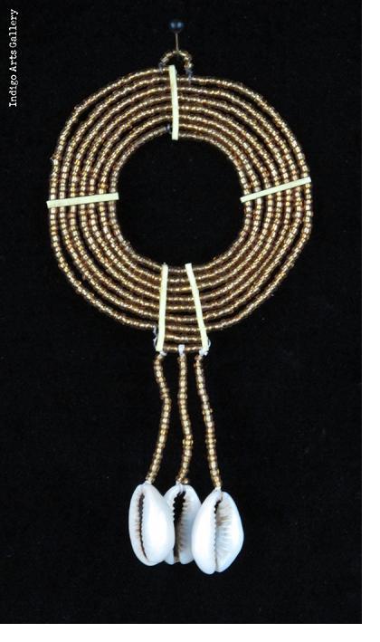 Maasai Beaded Ornaments - Gold