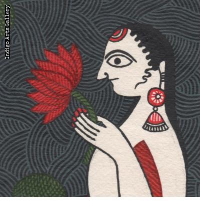 Matasya and Four Lotuses