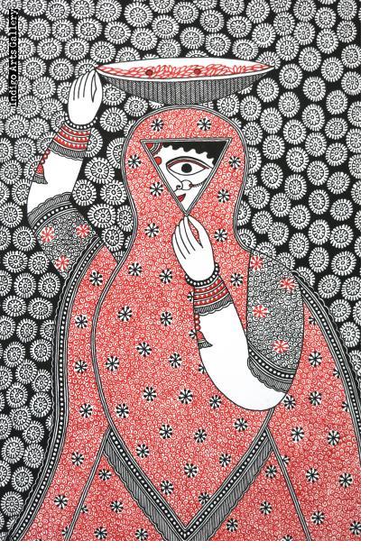 Naina Jogin (the eye goddess)