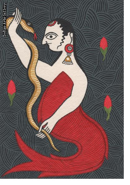 Matasya and the Snake