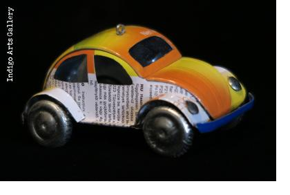 Madagascar Volkswagen Beetle Ornament