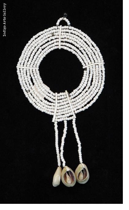 Maasai Beaded Ornaments - White